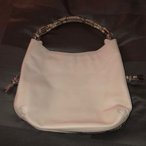 Authentic cream leather/snake skin Micheal Kors